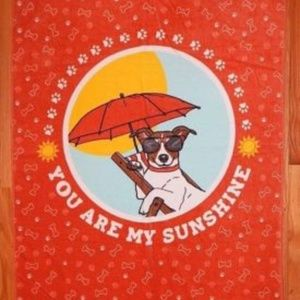 Envogue Beach Doggie Lovers Towels